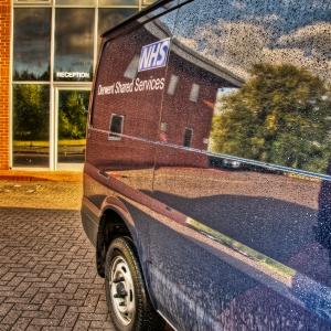 HDR Blue Van