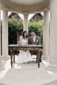 Morley Hayes, Outdoor Wedding