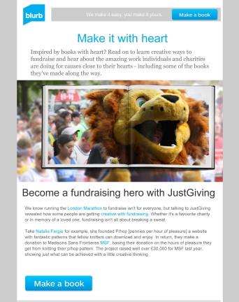 Creative ways to raise money with books.