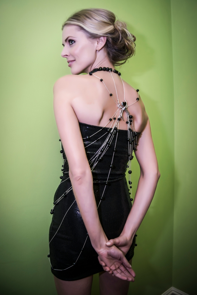 Donna Air in Amazing Spiderman Dress designed by Scott Henshall