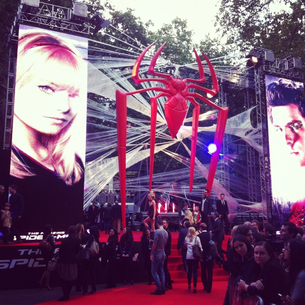 Amazing Spiderman London Premiere