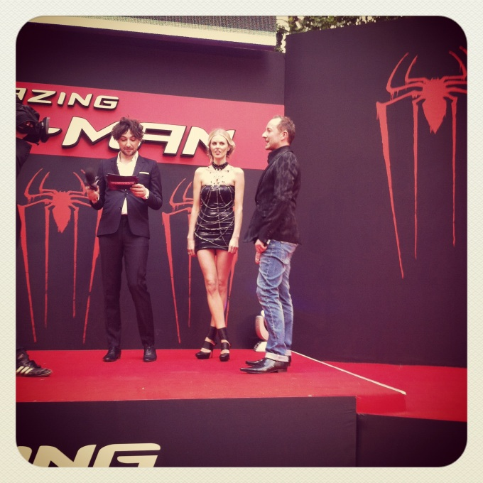 Amazing Spiderman London Premiere - Donna Air - Scott Henshall