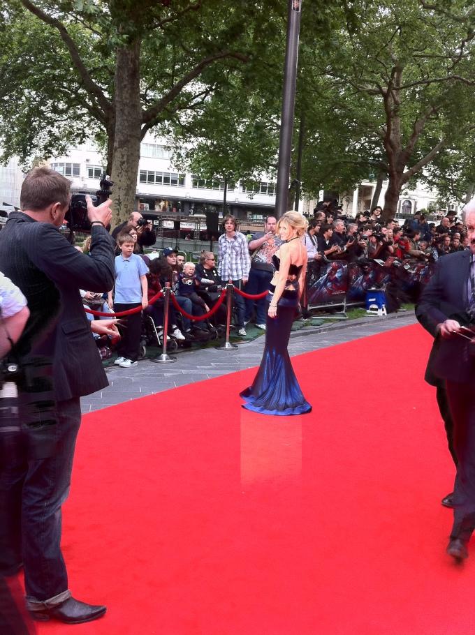 Hofit Golan at Amazing Spiderman London Premiere