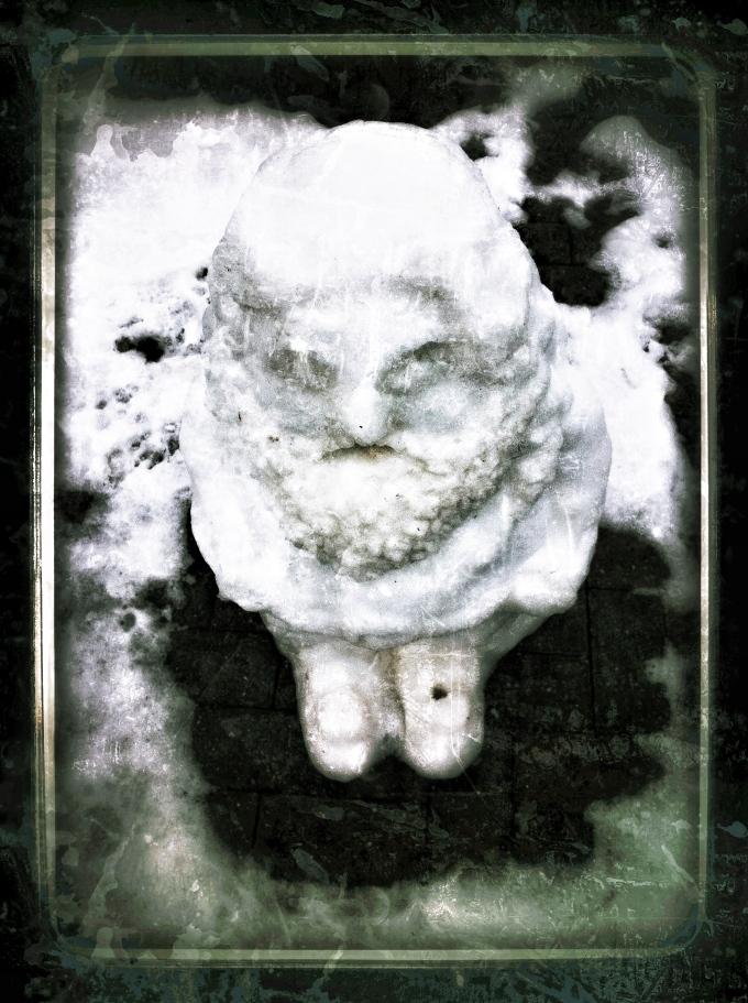 Snow Gnome - snapseed photo