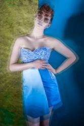 Blue Crystal Shoot