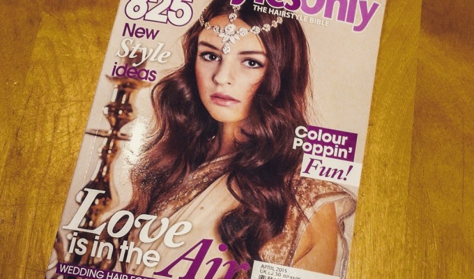 Hairstyles Only Magazine – Front Cover