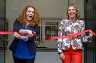 Jenny McAlpine opens The Fashion Parade, Uttoxeter
