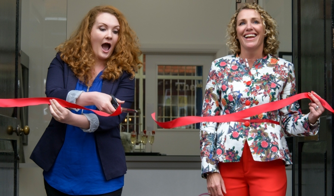 """Fiz"" from Coronation Street Opens ""The Fashion Parade"""