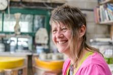 Heidi Gibbs at The Bank Pottery