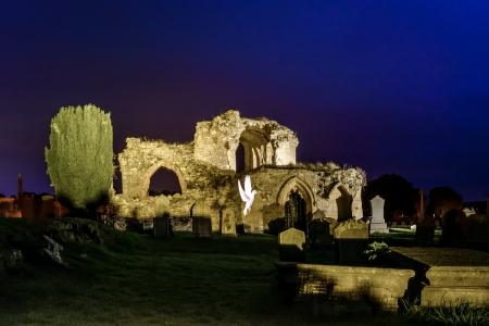 Ewan Mathers at Kinloss Abbey