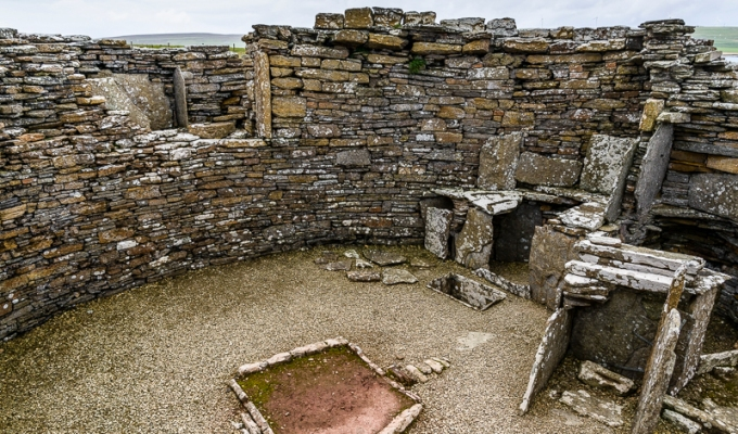 Orkney – The Broch of Gurness