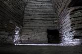 Inside Cuween Hill Cairn, Orkney